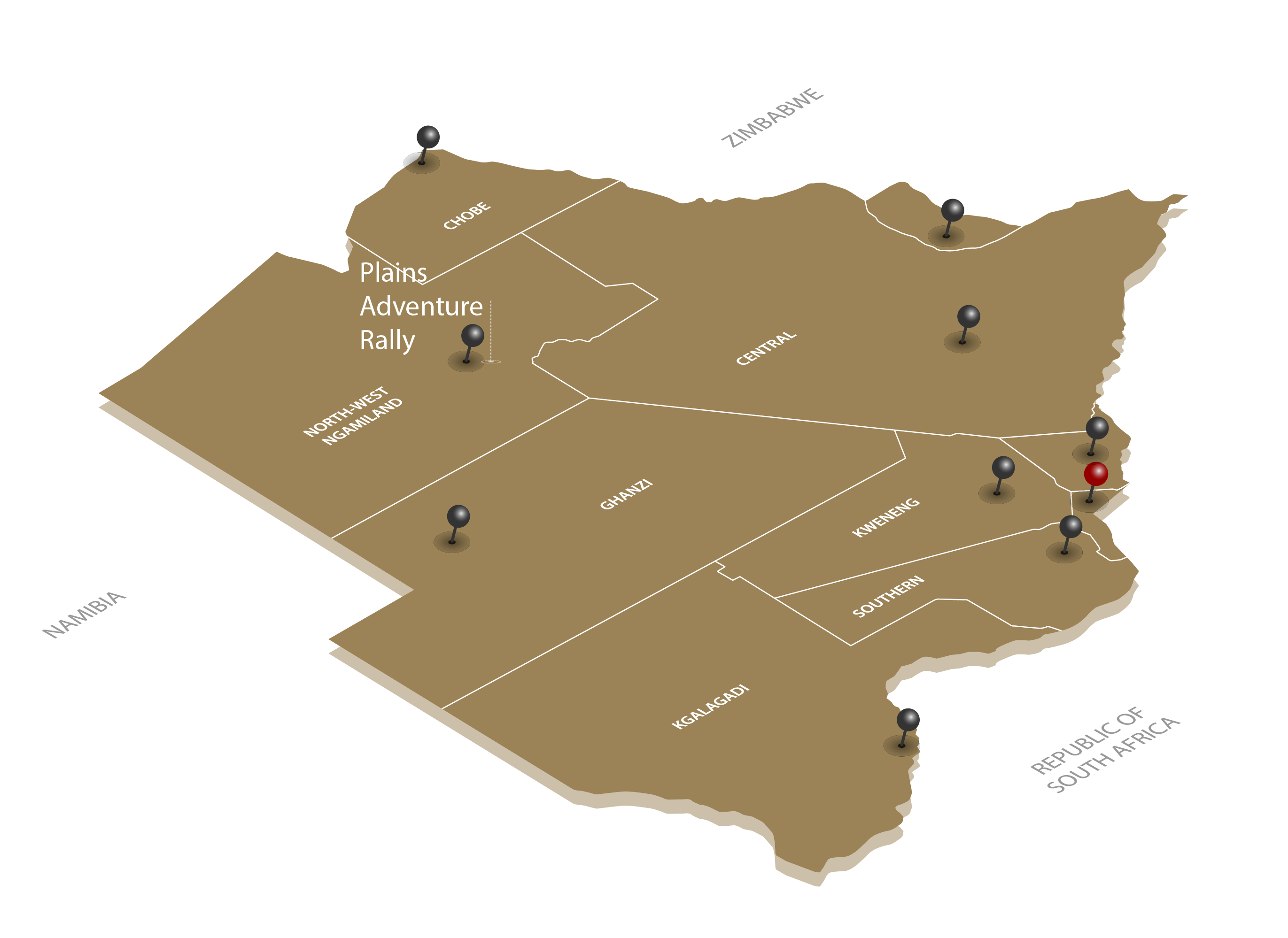 plains adventure rally map
