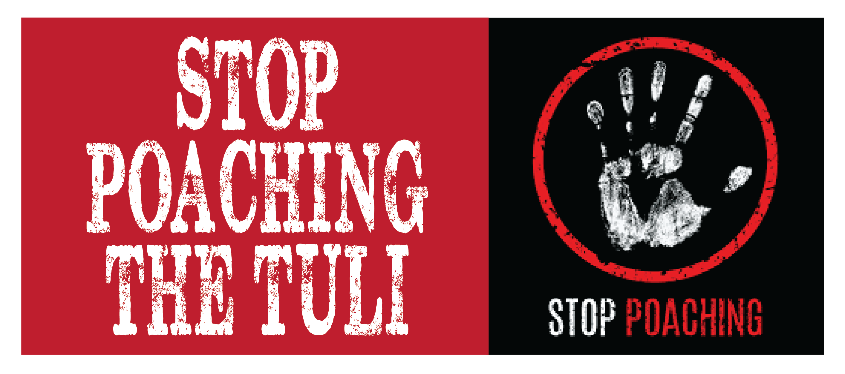 STOP POACHING THE TULI 01
