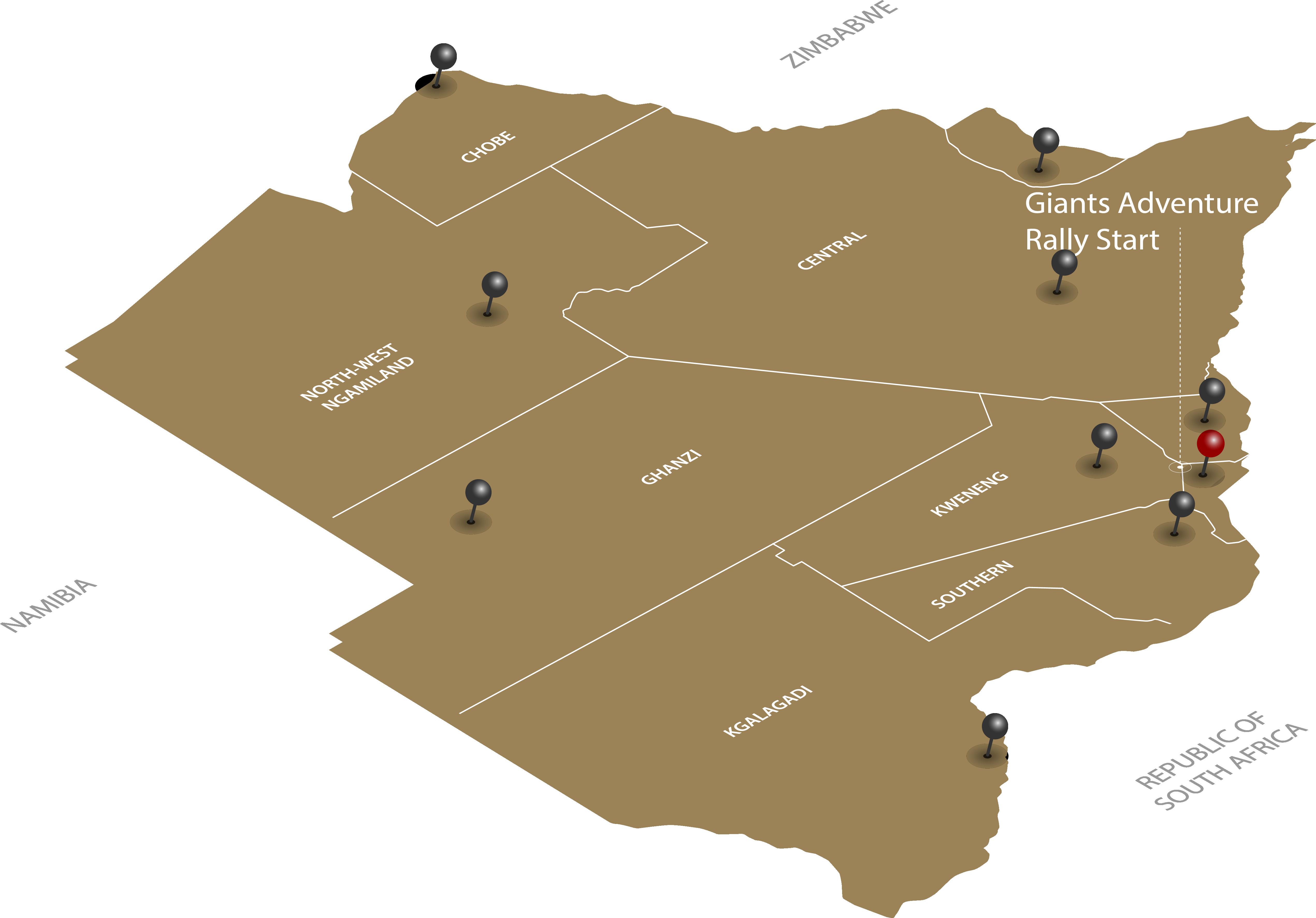 plains adventure rally map