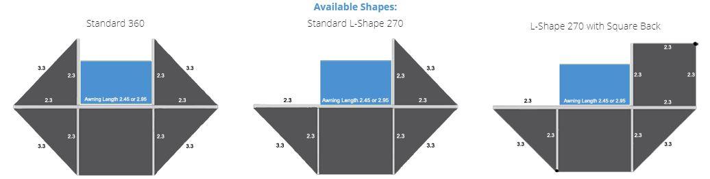 Bundutec Awn sizes image