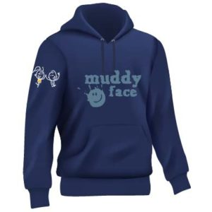 SIDE FRONTAL Navy blue and blue hoodie full set 01