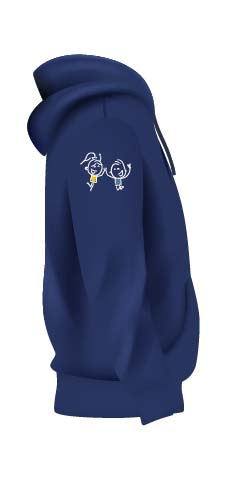 SIDE Navy blue and yellow hoodie full set 01